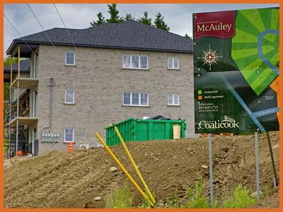 Développement immobilier Coaticook